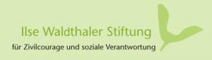 Ilse Waldthaler Stiftung - Zivilcouragepreis
